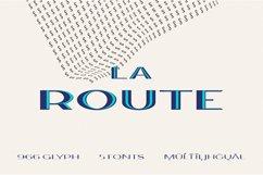 La Route Typeface Product Image 1