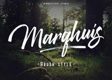 Marqhuis Brush font Product Image 1