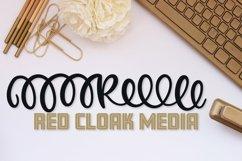 Web Font Monogram Header Font - A-Z Letters Product Image 5