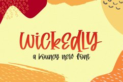 Wickedly Font Product Image 1