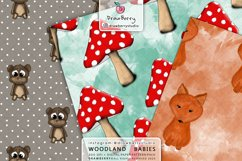 Woodland Baby Animal Patterns DP081 Product Image 2