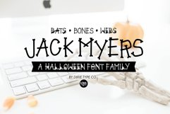 JACK MYERS a Halloween Font Family Product Image 1