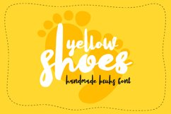 Yellow Shoes Product Image 1