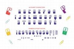 MONICARS Font Product Image 3