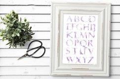 Watercolor alphabet - DREAMS Product Image 3