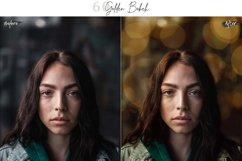 60 Golden Bokeh lights Effect Photo Overlay, Wedding Overlay Product Image 4