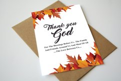 Thank You God Flyer Product Image 1