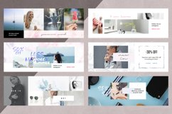 Canva - Marble Facebook Cover Pack Product Image 3