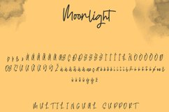 Moonlight | Casual Monoline Font Product Image 5
