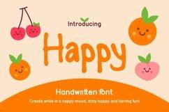 Happy Handwritten Font Product Image 1