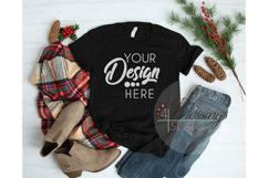Winter Mockup Bundle Bella Canvas Mockup Bundle T Shirt Flay Product Image 3