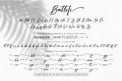 Battofi Handwritten Font Product Image 5