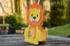 Lion Easter egg holder design SVG / DXF / EPS Product Image 3