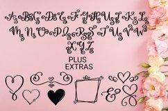 Web Font Love Monogram Product Image 4