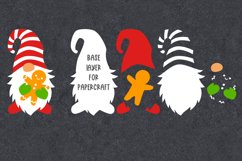 Christmas gnome svg cut files Christmas svg files for cricut Product Image 2