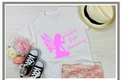 Never Stop Dreaming Fairy SVG Product Image 2