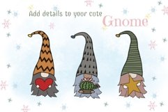 Fantastic Gnome 58 Element Brush Stamp Procreate. Brushes Product Image 3