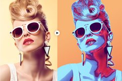 Neon Colored Pop Art PS Action Product Image 5
