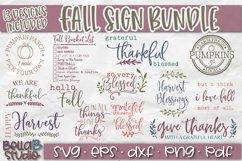 Fall SVG Bundle, Autumn SVG Bundle, Fall Quotes SVG Bundle Product Image 3