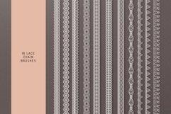 Lace Theme Procreate Brush Bundle Product Image 6