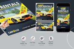Car Rental Social Media Pack Product Image 2