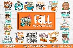 Fall SVG Sticker Bundle - Fall stickers - SVG Bundle - Fall Product Image 1