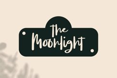 Web Font Moonsight - Script Font Product Image 3