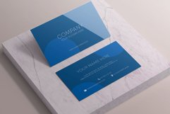 Classic Blue Business Card Product Image 3
