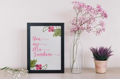Hello Lovely - A Beautiful Script Font Product Image 5