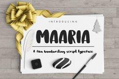 Maaria Handwriting Script Typeface Product Image 1