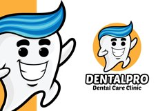 Tooth Dental Clinic Logo Template Product Image 1