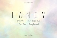 Fancy font family - 12 fonts Product Image 1