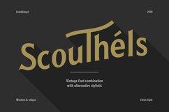 Scouthels Typeface - Clean Sans Font Product Image 1