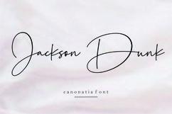 Canonatia // Handwritten Font Product Image 6