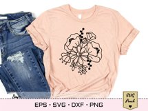 Wildflower bunch florals SVG Product Image 3