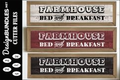 Farmhouse Bed and Breakfast SVG Product Image 1