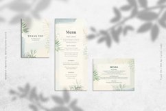 Modest Tropical Invitation Suite Product Image 4