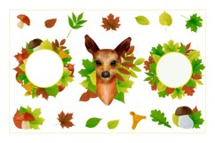 Autumn watercolor style vector collection. Product Image 6