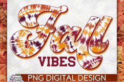 Fall Vibes Vintage PNG Sublimation Design Product Image 1