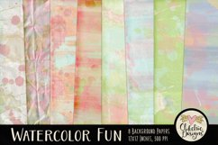 Watercolor Paint Background Textures Product Image 1