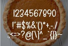 Web Font Sweet Pumpkin Pie Product Image 3