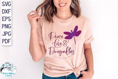 Dragonfly SVG Bundle | 25 Dragonfly SVGs Product Image 5