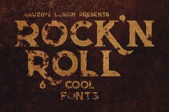 Rock'n Roll Typeface Product Image 5