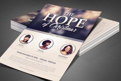 The Hope of Christmas Church Flyer Product Image 6