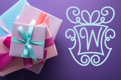 Christmasgram - A Hand-Written Monogram Font With SVG Product Image 4