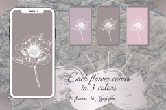 Pastel Flower instagram highlight icons, trendy stories Product Image 4