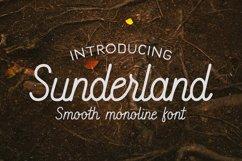 Sunderland - Smooth script font Product Image 1