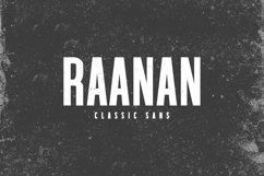 Raanan Classic Sans Serif Font Family Product Image 1
