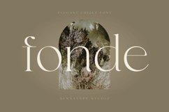 fonde - elegant chique font Product Image 1