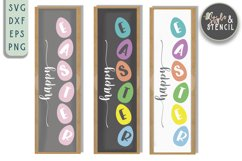Easter Porch Sign   Happy Easter SVG Product Image 3